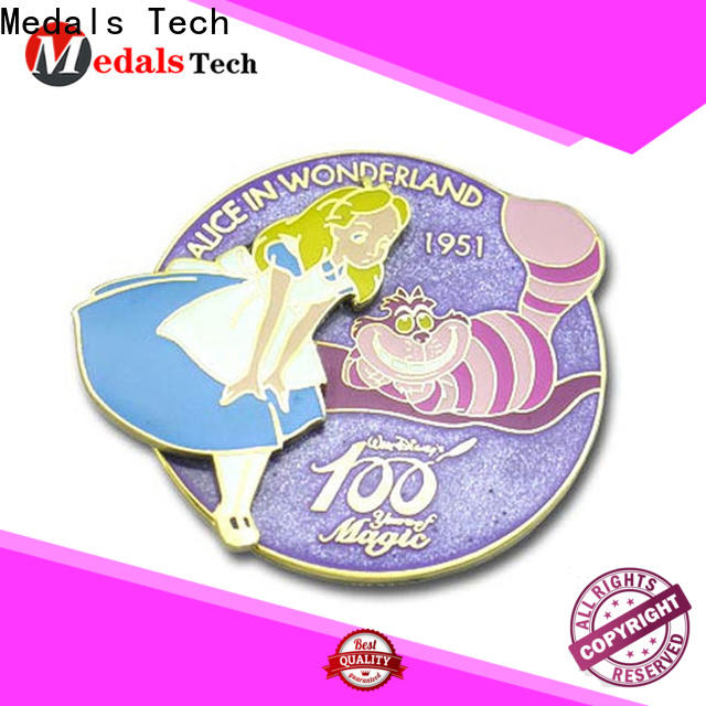 Medals Tech out custom lapel pins cheap with good price for woman