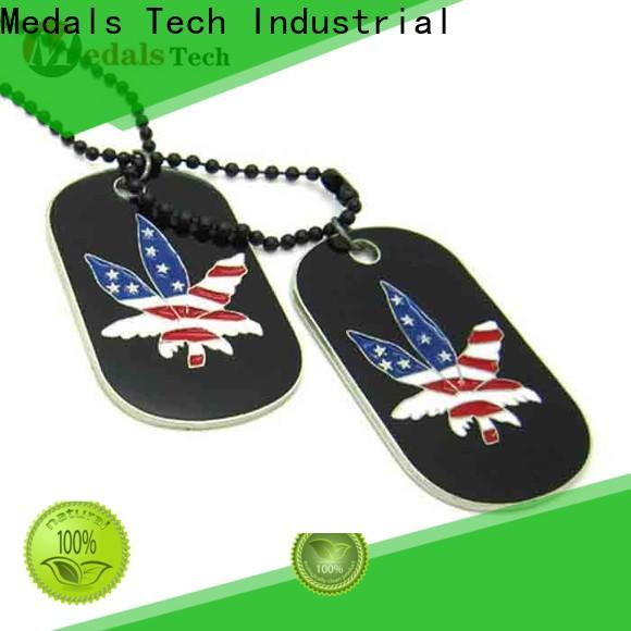 Medals Tech ballchain engraved dog identification tags directly sale for man