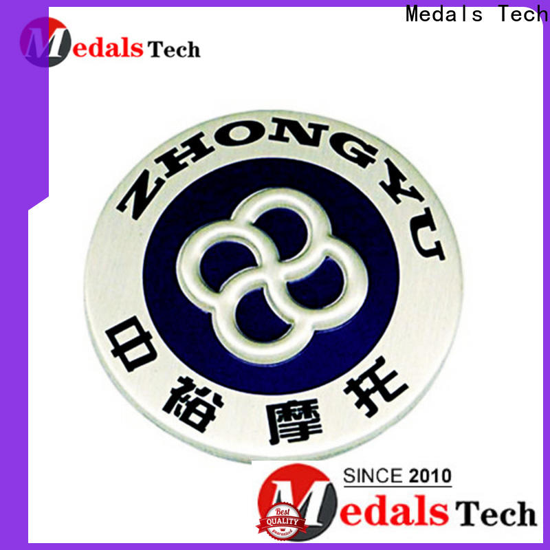 Medals Tech tin custom lapel pins cheap with good price for woman