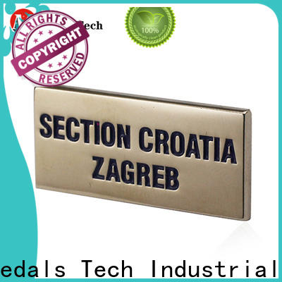Medals Tech eye decorative name plate with good price for woman