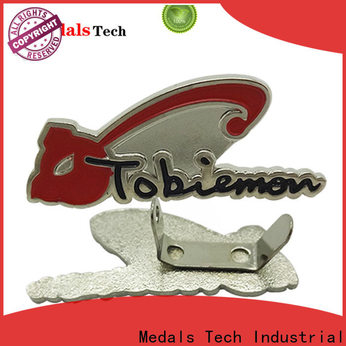 Medals Tech printed steel name plates factory for man