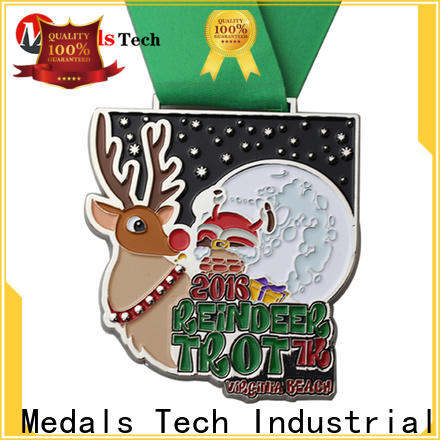 Medals Tech spinning custom race medals wholesale for promotion