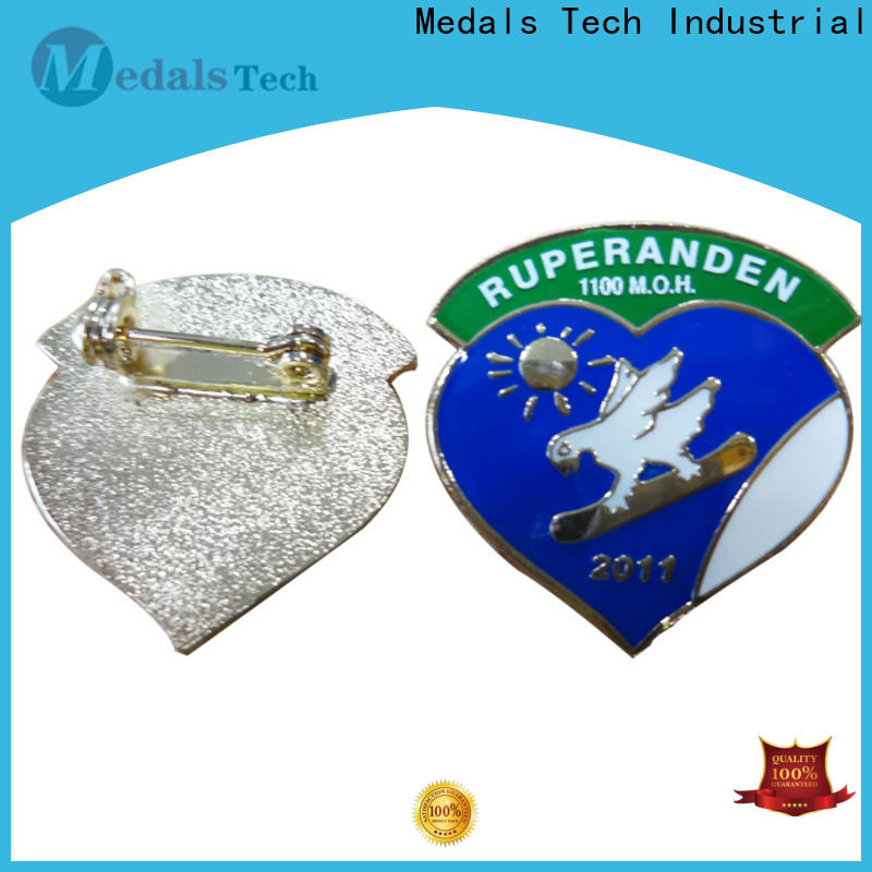 Medals Tech coated custom lapel pins factory for man