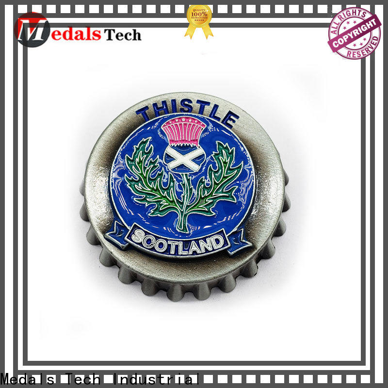 Medals Tech printing beer bottle opener customized for souvenir
