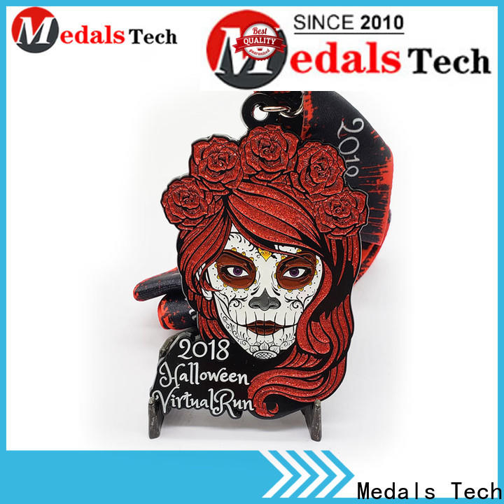 Medals Tech baseball best running medals factory price for add on sale