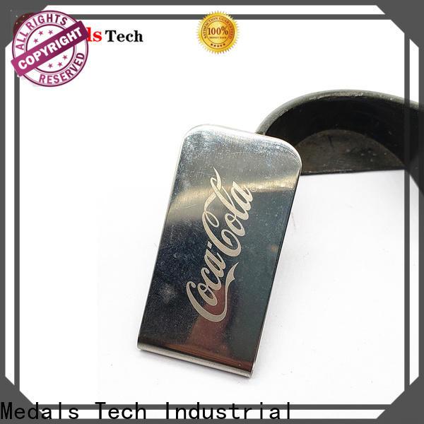 Medals Tech epoxy big money clip factory for man