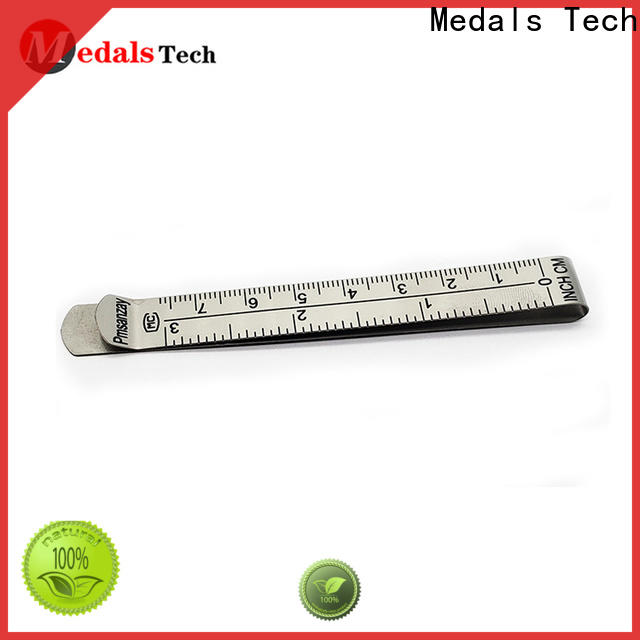 Medals Tech plating money clip credit card holder factory for adults
