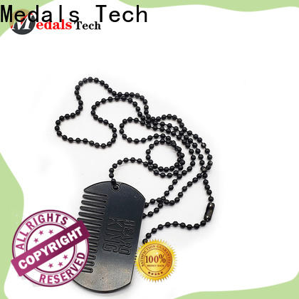 Medals Tech silver small dog tags directly sale for add on sale