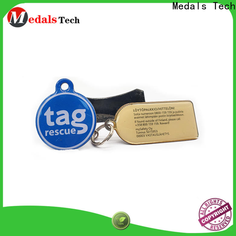 Medals Tech gift cheap dog tags for pets manufacturer for adults