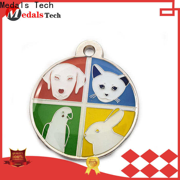 Medals Tech silver online dog tag maker directly sale for boys