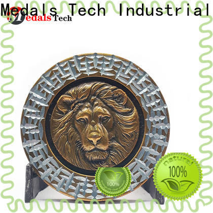 Medals Tech antique veteran challenge coin wholesale for games