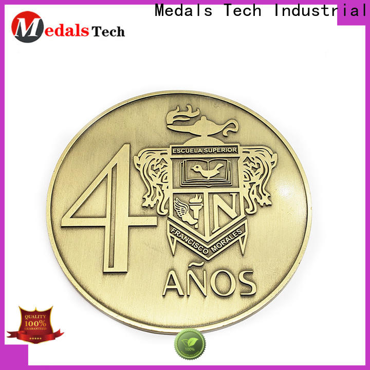 Medals Tech durable custom silver coins supplier for add on sale