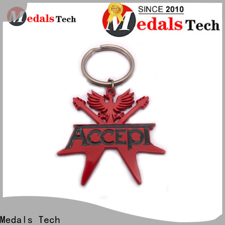 Medals Tech gold metal keychains directly sale for promotion