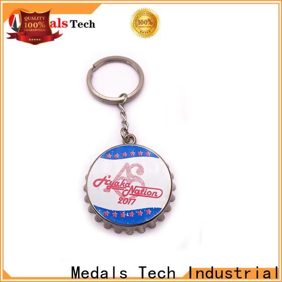 Medals Tech metal metal key ring directly sale for commercial