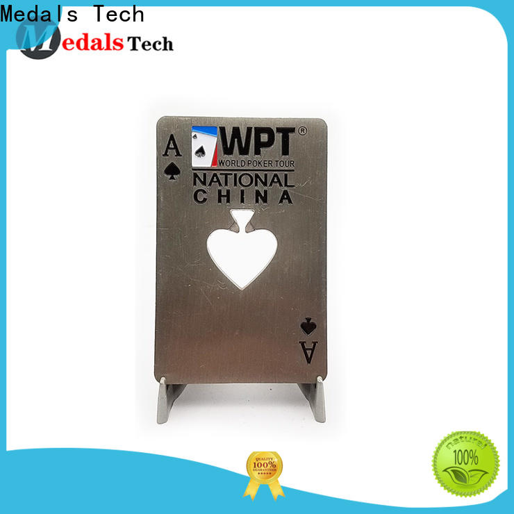 Medals Tech printing stainless steel bottle opener series for souvenir