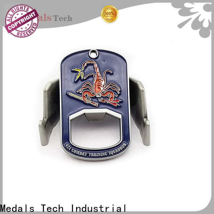 Medals Tech die casting bulk bottle openers manufacturer for add on sale