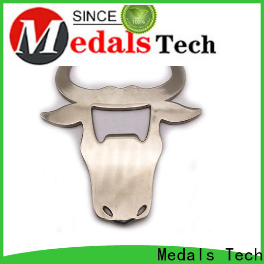 Medals Tech bullet metal bottle opener from China for add on sale