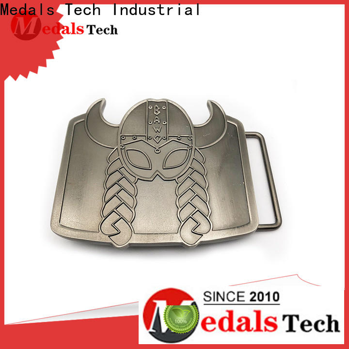 Medals Tech embossed men belt buckles wholesale for adults
