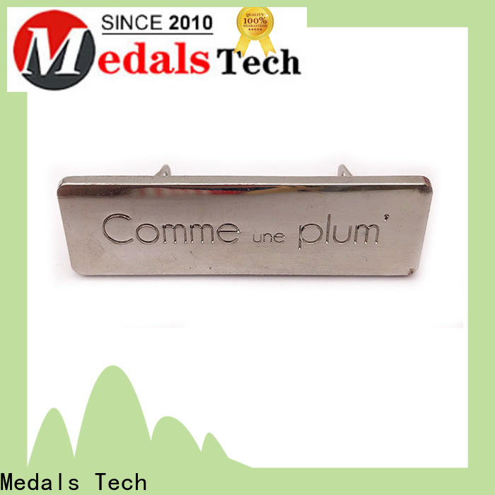 Medals Tech Wholesale aluminium nameplate company for woman