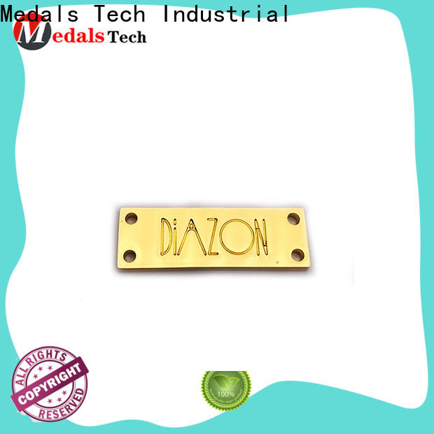 Medals Tech eye stylish name plate supply for man