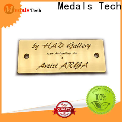 Medals Tech Best metal name plates for business for kids