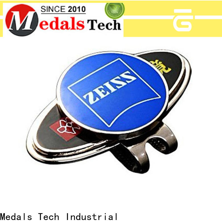 Medals Tech Best golf ball marker hat clip supply for promotion