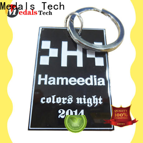 Medals Tech promotion leather keychain suppliers for add on sale