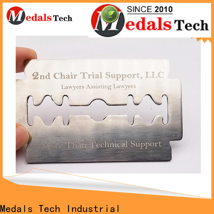 Medals Tech round metal nameplate manufacturers for kids