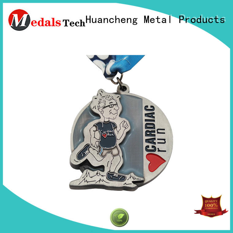 gold different types of medals marathon Huancheng company