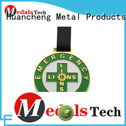 personalised golf bag tags iron cost-effective round shape Huancheng Brand