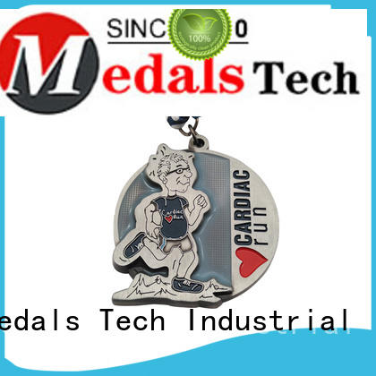 Medals Tech cut custom running medals factory price for promotion