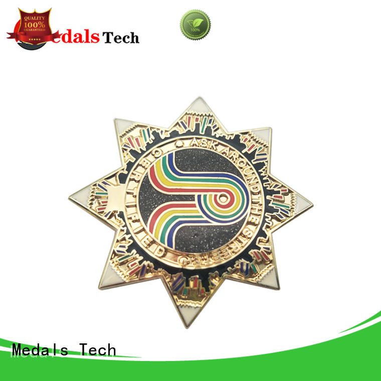 Medals Tech lapel mens suit pins with good price for woman