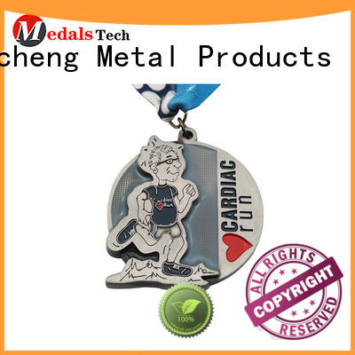 Hot matte different types of medals popular Huancheng Brand