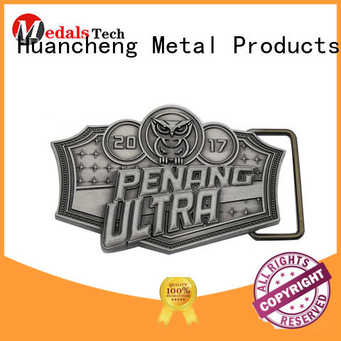 silver men metal mens belt buckles Huancheng Brand