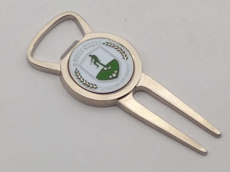Medals Tech silver divot tool ball marker factory for add on sale-3