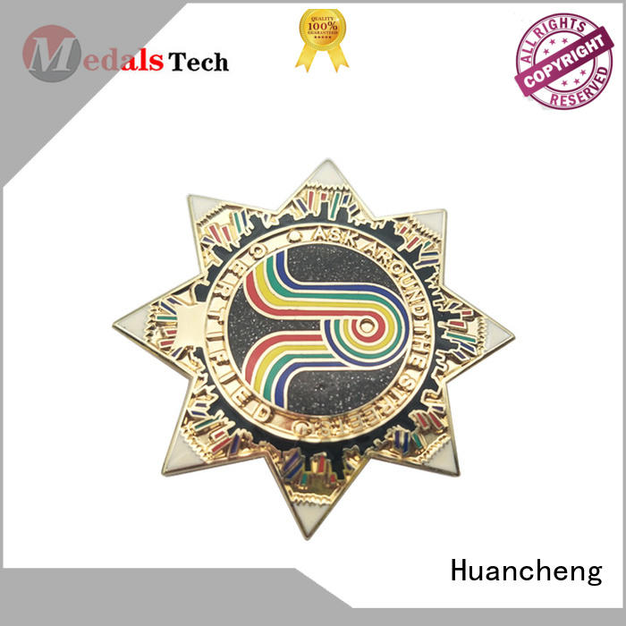 Quality Huancheng Brand suit accessories lapel pins gold japanese