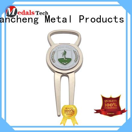 Huancheng Brand opener durable Zinc Alloy custom best golf divot tool