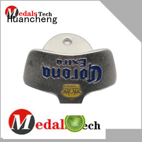 shape metal hand held bottle opener Huancheng Brand