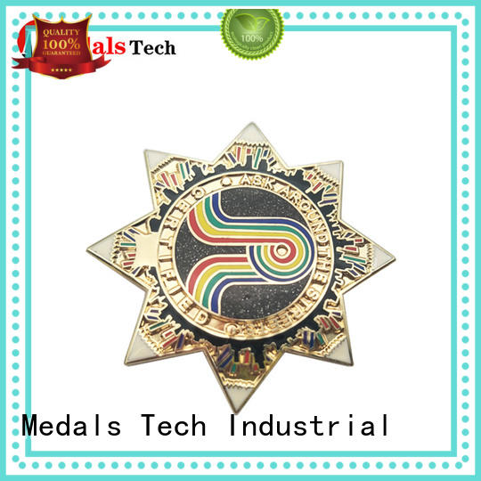 Medals Tech steel mens lapel pin inquire now for man