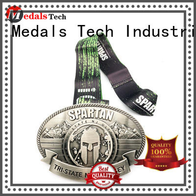 Medals Tech quality silver belt buckles supplier for teen