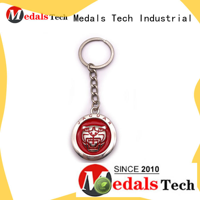 plated leather keychain from China for commercial