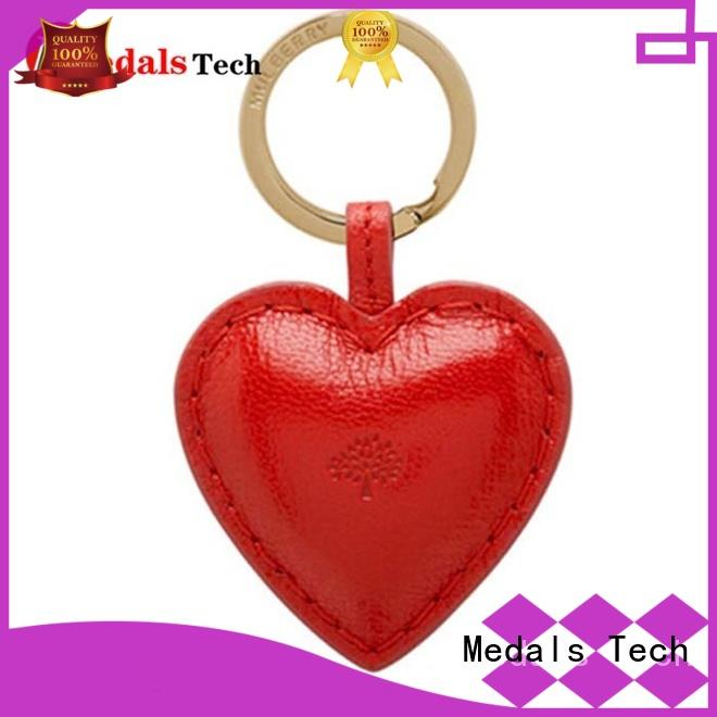 gold leather keychain laser manufacturer for woman