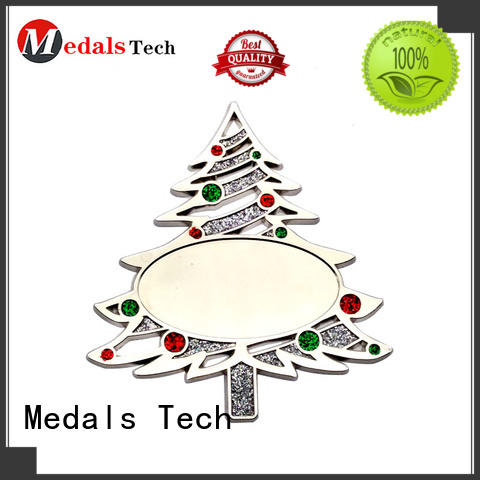 Medals Tech christmas metal gifts series for souvenir