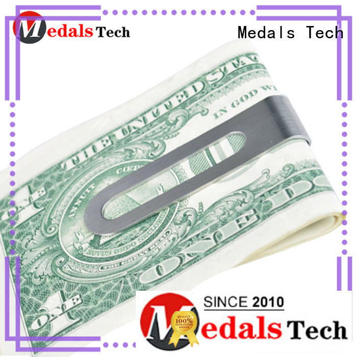 Medals Tech coated world's best money clip design for woman