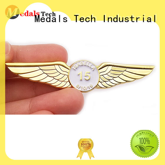 metal mens lapel pin with good price for woman