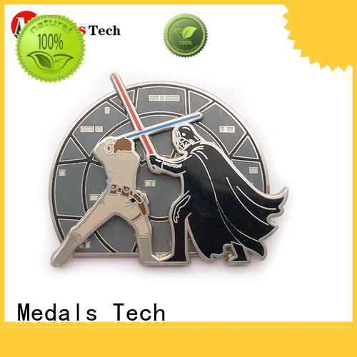Medals Tech quality custom lapel pins cheap factory for woman