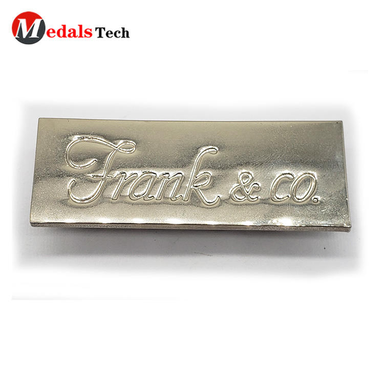 Medals Tech beautiful silver name plate with good price for add on sale-3