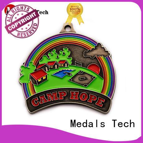 Medals Tech running custom running medals supplier for kids