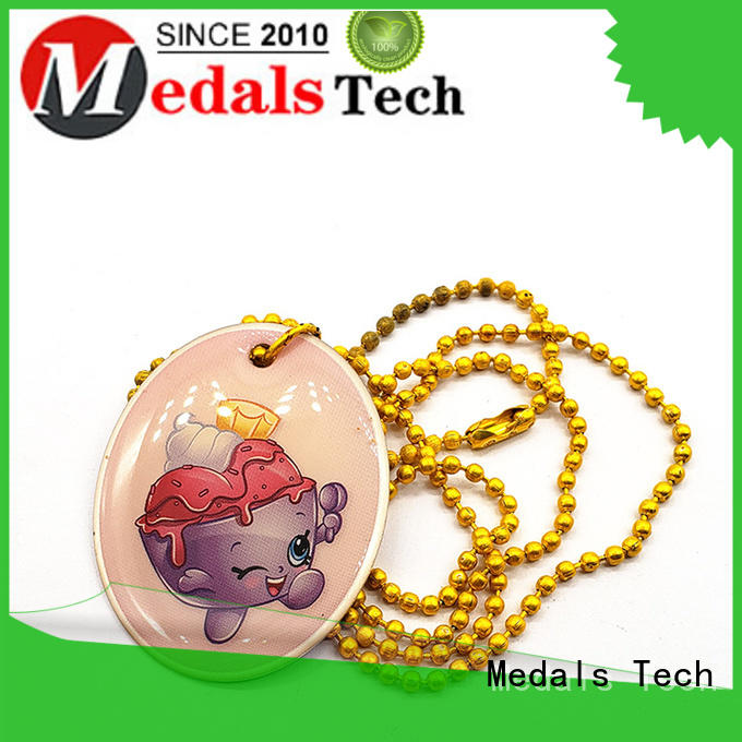 Medals Tech plated dog tag for dog collar from China for boys