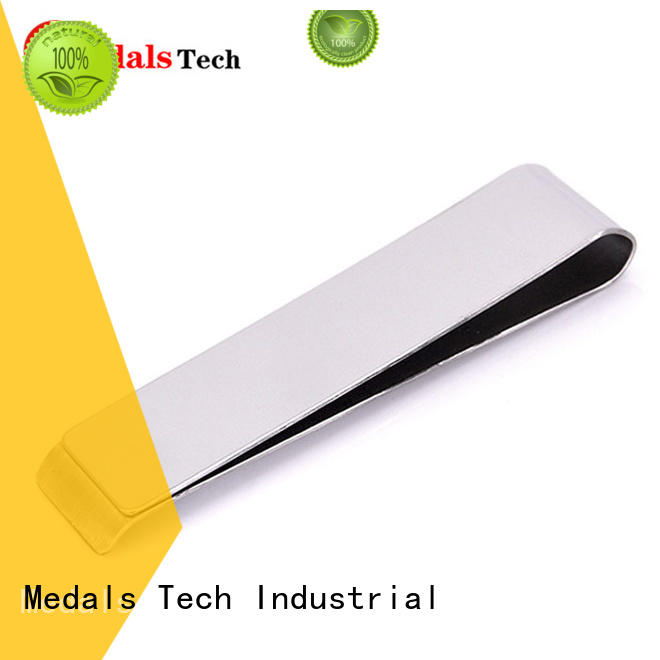Medals Tech silver stainless money clip with good price for adults